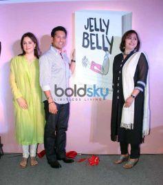 Sachin Tendulkar Launches Dr Aparna Santhanam Book Jelly Belly