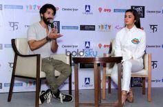 Shahid Kapoor & Alia Bhatt Grace The Media Meet of 'Shaandaar'