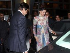 Amitabh Bachchan, Deepika Padukone And Sonakshi Sinha At Sony Tv Party
