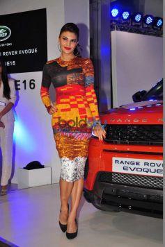 Jacqueline Fernandez Unveils The New Range Rover Evoque