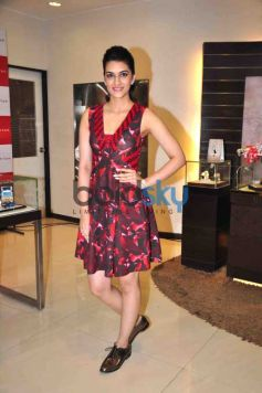 Kriti Sanon At The Launch Of World Of Titan's Diwali Collection