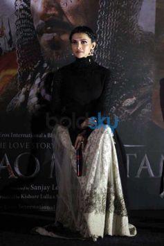 Launch Of Bajirao Mastani Trailer With Ranveer And Deepika