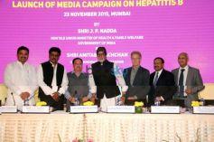 Launch Of 'Media Campaign On Hepatitis B'