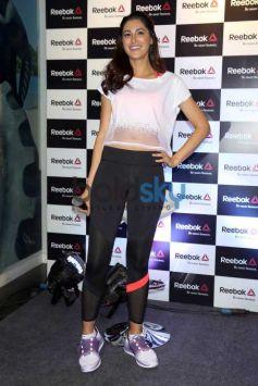 Nargis Fakhri At Launch Of Reeboks Latest Fit Hub Store