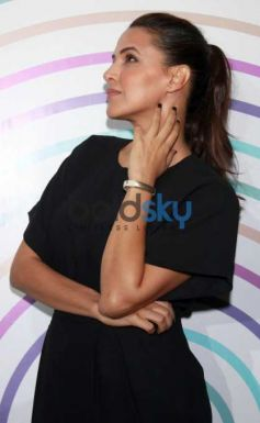Neha Dhupia At Launch Of Jawbone Fitness Bands
