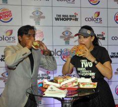 Neha Dhupia Launches Big Boss Whopper