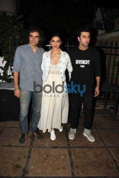 Ranbir And Deepika Snapped At Tamasha Promotions