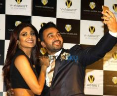 Shilpa Shetty, Malaika Arora And Others At Viaan Mobile Launch