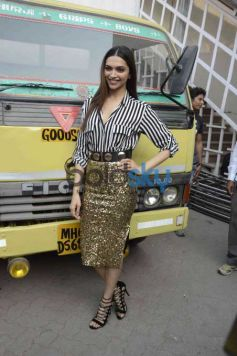 Deepika Padukone At The Press Conference Of 'Bajirao Mastani'
