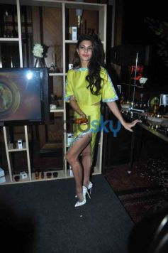 Jacqueline Fernandez At The Launch Of The Bodyshop New Range