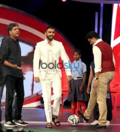 Ranveer Singh & Sourav Ganguly Raise Funds For 'Support My School' Campaign