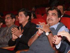 Shah Rukh Khan At The Launch Of 'Hyundai Traffic Safety'