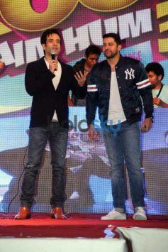 Tusshar Kapoor, Gauhar Khan And Aftab Shivdasani At Kyaa Kool Hai Hum 3 Promotions