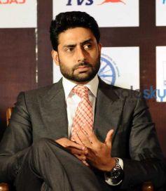 Abhishek Bachchan Clicked At The Pro Kabaddi League Press Conference