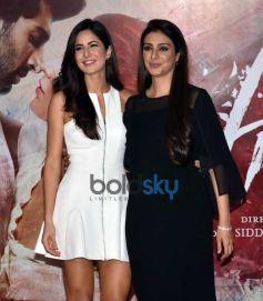 Aditya Roy, Katrina Kaif & Tabu At The Trailer Launch Of 'Fitoor'