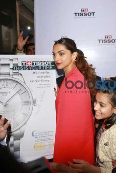 Deepika Padukone At Launch Of Tissot Watch Store