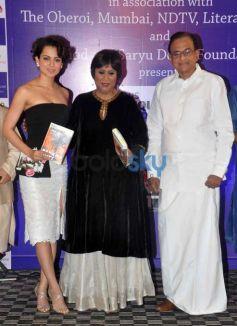Kangna Ranaut Unveils Barkha Dutt's The Unquiet Land