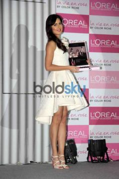 Katrina Kaif Launches Her Signature Lip Colour