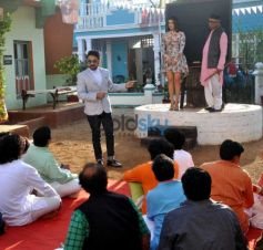 Promotion Of Mastizaade On The Sets Of SAB TV Show Chidiya Ghar