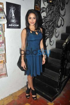 Aditi Rao Hydari Spotted At Launch Of Music Video Aarachaar