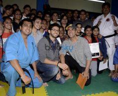 Akshay, Aditya Attend Graduation Ceremony Of Womens Self Defense Center