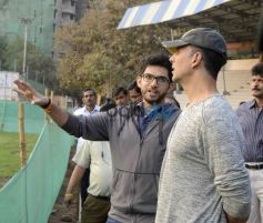Akshay, Aditya Attend Graduation Ceremony Of Womens Self Defense Center