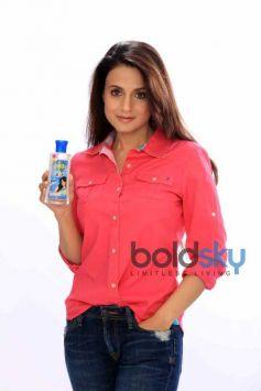 Ameesha Patel Shoots For Pioneer Jasmine Hair Oil