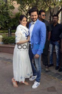 Bollywood Celebs Attend Salman's Sister Arpita Khan's Baby Shower Ceremony