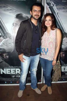 Dia Mirza, Huma Qureshi And Sophie Choudry At Special Screening Of Neerja