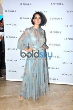 Kangna Ranaut At The Launch Of Sephora Store