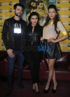 Lisa Ray, Krishna Chaturvedi And Ruhi Singh At Press Meet To Promote Ishq Forever