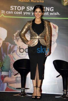 Sunny Leone Launch A Quirky Anti Smoking PSA Film