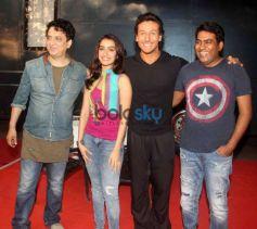 Tiger Shroff & Shraddha Kapoor At Media Interaction For Film Baaghi