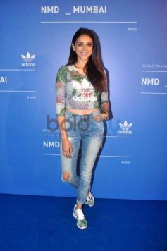 Aditi Rao Hydari At Launch Of Adidas Original NMD Collection