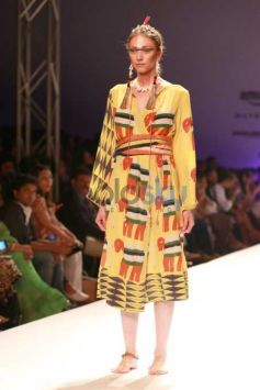 Designer Anupamma Dayal Collection At AIFW 2016