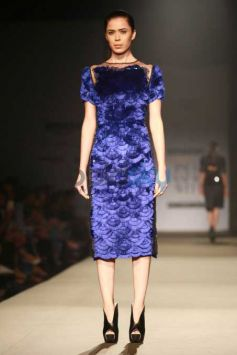 Designer Pankaj And Nidhi Collection At AIFW 2016