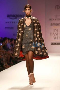 Designer Rina Dhaka Collection At AIFW 2016