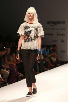 Designer Sanchita Collection At AIFW 2016
