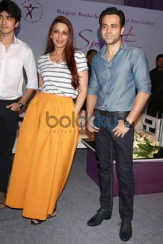 Emraan Hashmi And Sonali Bendre At Spring Fever 2016
