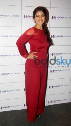 Kajol Graces An Interaction Session On Women's Wellness Through The Ages