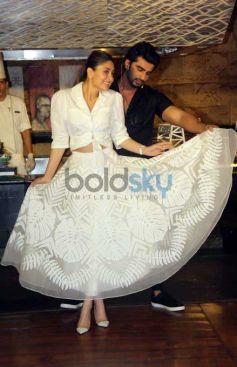 Kareena Kapoor Khan And Arjun Kapoor Grace The Special Lunch To Promote 'Ki & Ka'