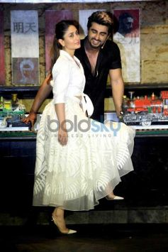 Kareena Kapoor Khan And Arjun Kapoor Grace The Special Lunch To Promote 'Ki & Ka'
