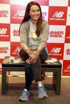Sonakshi Sinha Inaugurates New Balance Store In Noida