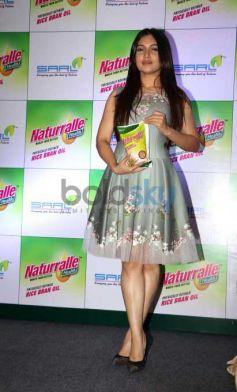 Bhumi Pednekar Launch Of Naturralle Health Rice Bran Oil