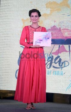 Dia Mirza At The Launch Of Ganga-The Soul Of India On Living Foods Channel