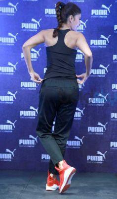 Jacqueline Fernandez At Launch Of PUMA's Biggest Flagship Store