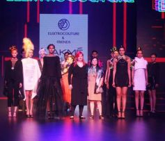 Show Design By Elektrocouture And Friends At LFW Day 1