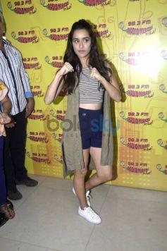 Shradha Kapoor At Radio Mirchi Studio