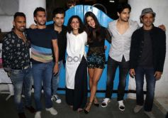 Sidharth, Katrina And Karan At Baar Baar Dekho Wrap Up Bash