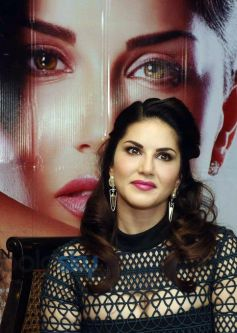 Sunny Leone At Promotion Of Moive One Night Stand